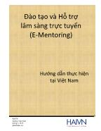 Đào tạo và Hỗ trợ lâm sàng trực tuyến (E - Mentoring)