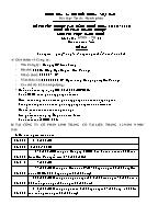 Đề thi tốt nghiệp cao đẳng nghề khoá 3 (2009 - 2012) nghề: Kế toán doanh nghiệp - Môn thi: Thực hành nghề - Mã đề thi: KTDN - TH 16