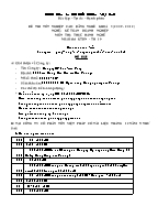 Đề thi tốt nghiệp cao đẳng nghề khoá 3 (2009 - 2012) nghề: Kế toán doanh nghiệp - Môn thi: Thực hành nghề - Mã đề thi: KTDN - TH 19