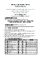 Đề thi tốt nghiệp cao đẳng nghề khóa 3 (2009 – 2012) - Nghề: Kỹ thuật chế biến món ăn - Môn thi: Thực hành nghề - Mã đề thi: KTCBMA – TH 42