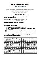 Đề thi tốt nghiệp cao đẳng nghề khóa 3 (2009 – 2012) - Nghề: Kỹ thuật chế biến món ăn - Môn thi: Thực hành nghề - Mã đề thi: KTCBMA – TH 14
