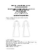 Đề thi tốt nghiệp cao đẳng nghề khoá 3 (2009 - 2012) - Nghề: May - thiết kế thời trang - Môn thi: Thực hành - Mã đề thi: MVTKTT - TH 25