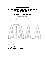 Đề thi tốt nghiệp cao đẳng nghề khoá 3 (2009 - 2012) - Nghề: May - thiết kế thời trang - Môn thi: Thực hành - Mã đề thi: MVTKTT - TH 42