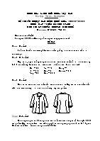 Đề thi tốt nghiệp cao đẳng nghề khoá 3 (2009 - 2012) - Nghề: May - thiết kế thời trang - Môn thi: Lý thuyết chuyên môn nghề - Mã đề thi: MVTKTT – LT 30