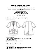 Đề thi tốt nghiệp cao đẳng nghề khoá 3 (2009 - 2012) - Nghề: May - thiết kế thời trang - Môn thi: Thực hành - Mã đề thi: MVTKTT - TH 20
