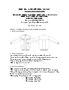 Đề thi tốt nghiệp cao đẳng nghề khoá 3 (2009 - 2012) - Nghề: May - thiết kế thời trang - Môn thi: Thực hành - Mã đề thi: MVTKTT - TH 18