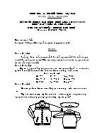 Đề thi tốt nghiệp cao đẳng nghề khoá 3 (2009 - 2012) - Nghề: May - thiết kế thời trang - Môn thi: Lý thuyết chuyên môn nghề - Mã đề thi: MVTKTT – LT 38