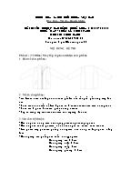 Đề thi tốt nghiệp cao đẳng nghề khoá 3 (2009 - 2012) - Nghề: May - thiết kế thời trang - Môn thi: Thực hành - Mã đề thi: MVTKTT - TH 26