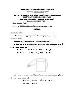 Đề thi tốt nghiệp cao đẳng nghề khoá 3 (2009 - 2012) - Nghề: May - thiết kế thời trang - Môn thi: Lý thuyết chuyên môn nghề - Mã đề thi: MVTKTT – LT 47
