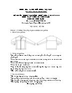 Đề thi tốt nghiệp cao đẳng nghề khoá 3 (2009 - 2012) - Nghề: May - thiết kế thời trang - Môn thi: Thực hành - Mã đề thi: MVTKTT - TH 05