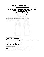 Đề thi tốt nghiệp cao đẳng nghề khoá 3 (2009 - 2012) - Nghề: May - thiết kế thời trang - Môn thi: Thực hành - Mã đề thi: MVTKTT - TH 21