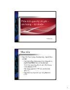 Kế toán tài chính 1 - Phân tích quan hệ chi phí – sản lượng – lợi nhuận
