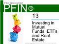Lý thuyết tài chính - Investing in mutual funds, etfs and real estate