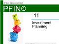 Lý thuyết tài chính - Investment planning