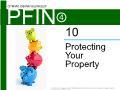 Lý thuyết tài chính - Protecting your property