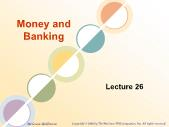 Ngân hàng tín dụng - Money and banking (lecture 26)