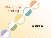 Ngân hàng tín dụng - Money and banking (lecture 32)