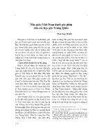 Nho giáo Việt Nam dưới góc nhìn của các học giả Trung Quốc