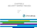 Quĩ đầu tư - Chapter 2: Security market indices