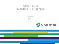 Quĩ đầu tư - Chapter 3: Market efficiency