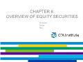 Quĩ đầu tư - Chapter 8: Overview of equity securities