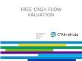 Tài chính ngân hàng - Free cash flow valuation