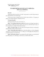 Tài liệu hướng dẫn ôn tập và kiểm tra môn luật hình sự