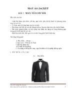 Tài liệu môn May áo jacket