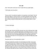 Triết học - Một số câu hỏi ôn tập