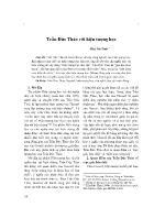 Triết học - Trần Đức Thảo với hiện tượng học