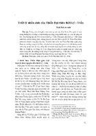 Triết lý nhân sinh của Thiền Đại thừa thời Lý - Trần