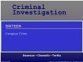 Xã hội học - Computer crime
