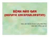 Y khoa y dược - Bệnh não gan (hepatic encephalopathy)