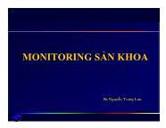 Y khoa y dược - Monitoring sản khoa