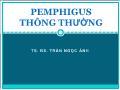 Y khoa y dược - Pemphigus thông thường