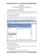 Hướng dẫn lập trình VB.Net - Chương 1: Mở và chạy một chương trình VS.Net - Phạm Đức Lập