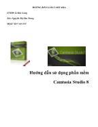 Hướng dẫn sử dụng phần mềm Camtasia Studio 8