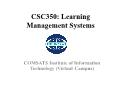 Learning Management Systems - Slate: Worksite Tools