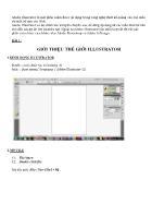 Tóm tắt bài giảng Adobe Illustrator