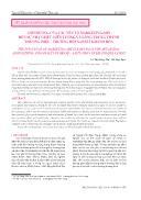 Ảnh hưởng của các yếu tố Marketing-Mix đến sự nhận biết, liên tưởng và lòng trung thành thương hiệu - Trường hợp Sanest Khánh Hòa