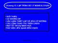 Bài giảng: Cấu trúc máy tính Lập trình hợp ngữ - Chương 13: Lập trình xử lý mảng & chuỗi - Ngô Phước Nguyên