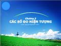 Bài giảng Nguyên lý thống kê - Chương 3: Các số đo hiện tượng - Nguyễn Ngọc Lâm