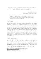 Bất đẳng thức Gagliardo - Nirenberg cho không gian có chuẩn sinh bởi hàm lõi