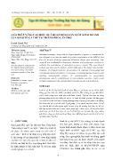 Giải pháp nâng cao hiệu quả hoạt động sản xuất kinh doanh của kinh tế cá thể tại thành phố Cần Thơ