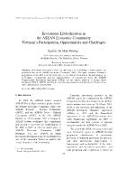 Investment Liberalization in the ASEAN Economic Community Vietnam's Participation, Opportunities and Challenges - Nguyễn Thị Minh Phương