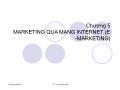 Thương mại điện tử - Chương 5: Marketing qua mạng internet (e-marketing)