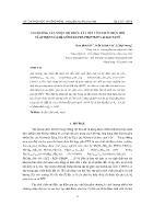 Ảnh hưởng của nhiệt độ thiêu kết đến tính chất điện môi và áp điện của hệ gốm Pzt-Pzn-Pmnn+0,35% kl Zno Nanô