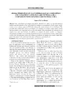 Characterization of clay mineralogical composition and consistency of hanoi agricultural soils – comparison with japanese agricultural soils