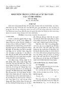Khái niệm trọng lượng qua các bài toán Vật lý phổ thông - Mai Văn Dũng