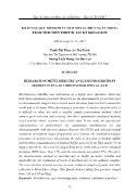 Khảo sát quy trình phân tích Metyl thủy ngân trong trầm tích trên thiết bị sắc ký khí GC-ECD